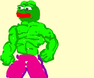 pepe is hulk