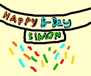 !!! - Happy Birthday, Simon - !!!