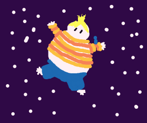 fat lucas (earthbound) floatin in outer space