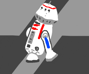 """R5-D4 (aka """"Red"""" from Star Wars)"""
