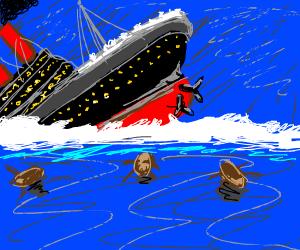 RIP the Titanic