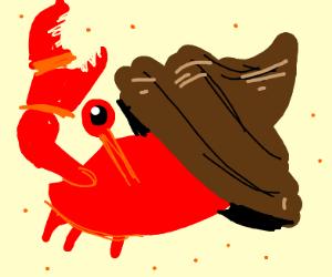 A Crab disguised as poop