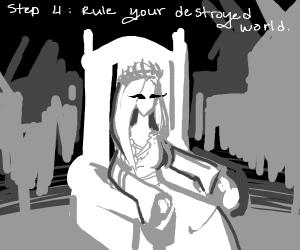 step 3: D E S T R O Y