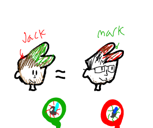 Markiplier is a red Jacksepticeye