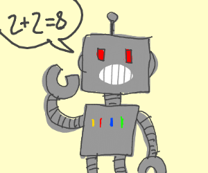 lying robot