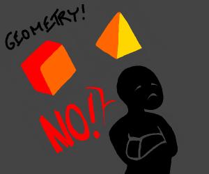 Geometric refusal