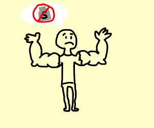 Step 4: Deny the fact you have steroids.