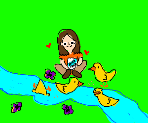 Take good care of your ducks.