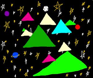 Triangles...In...S...P...A...C...E...!