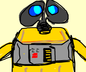 WALL-E looks at you