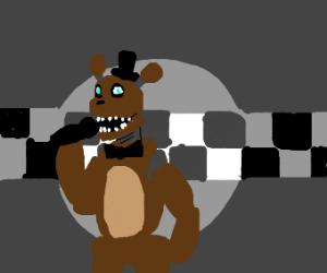 freddy fazbear singing in the ring