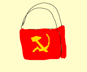 communism shopping bag