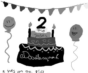 Doodlesquad has hit 2 years of DC PIO
