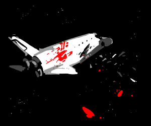 Haunted space shuttle