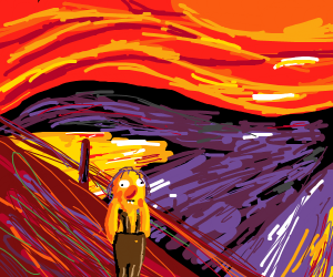 The scream but with Roy from dhmis