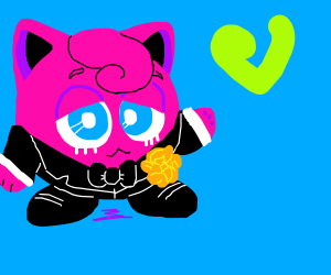 jigglypuff in a suit