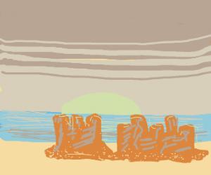Sandcastle Sunset