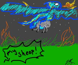 dragons keep stealing my sheep