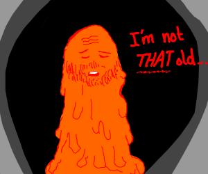 giant old orange dude is hurt