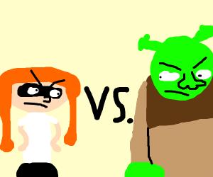 shrek vs woomy