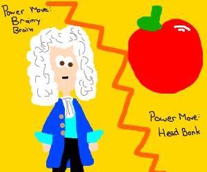 Isaac Newton V.S Apple