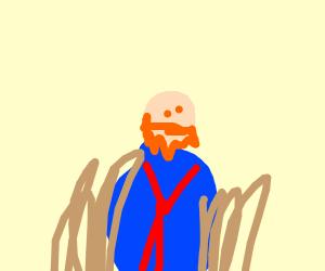 An impressive drawing of Van Gogh