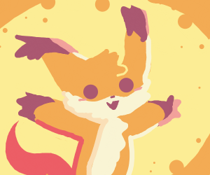 kawaii fox wants a hug
