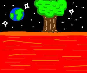 Tree on Mars