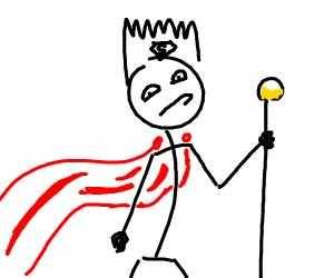super king stick man