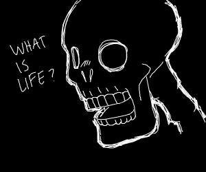 Skeleton in existential crisis