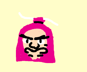 Angry product pink sachet