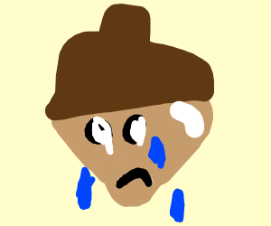 crying acorn