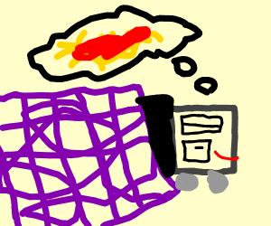truck dreaming of spaghetti?