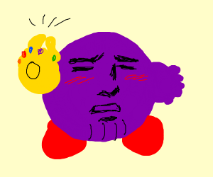 Snapping Thanos Kirby