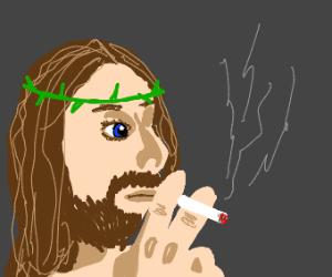 Smoking Jesus