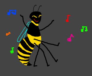 A Dancing Wasp
