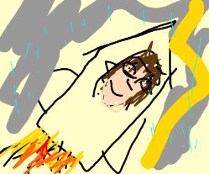 Rocket Scientist in a Storm