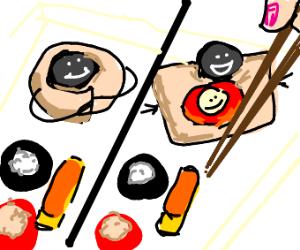 sushi-ception
