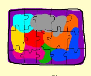 Jigsaw puzzled
