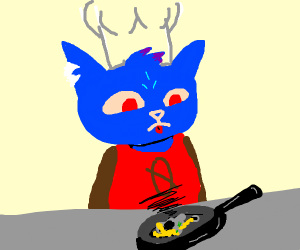 mae is a bad chef