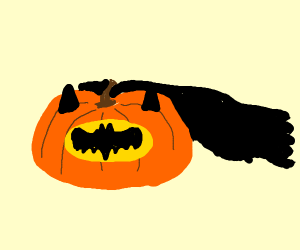 pumpkin batman