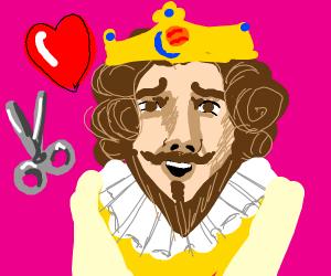 Burger king loves scissors