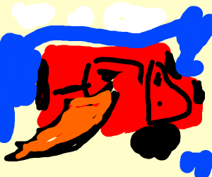 Winged van
