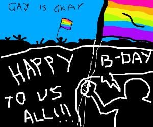 gay pride birthday