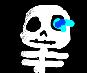 that new Sans kid from the new undertale game