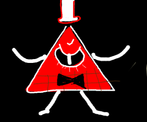 Bill Cipher is pissed off.