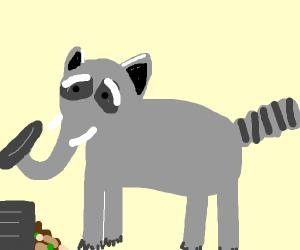 raccoonaphant