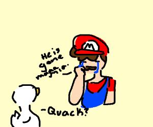 poor Mario :(