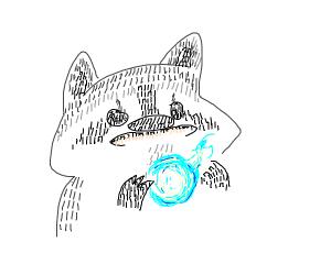 racoon eating soul