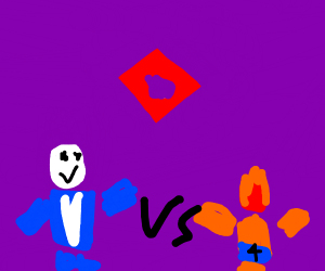 Torch Roblox Fireboy And Watergirl The Anime Drawception